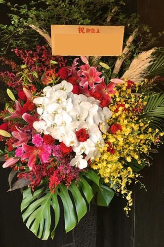 プレミアガーデン高級スタンド花2、花屋,安い,胡蝶蘭,スタンド花,当日,配達,値段