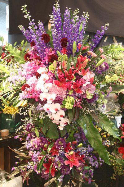 プレミアガーデン高級スタンド花豊洲,花屋,安い,胡蝶蘭,スタンド花,当日,配達,値段
